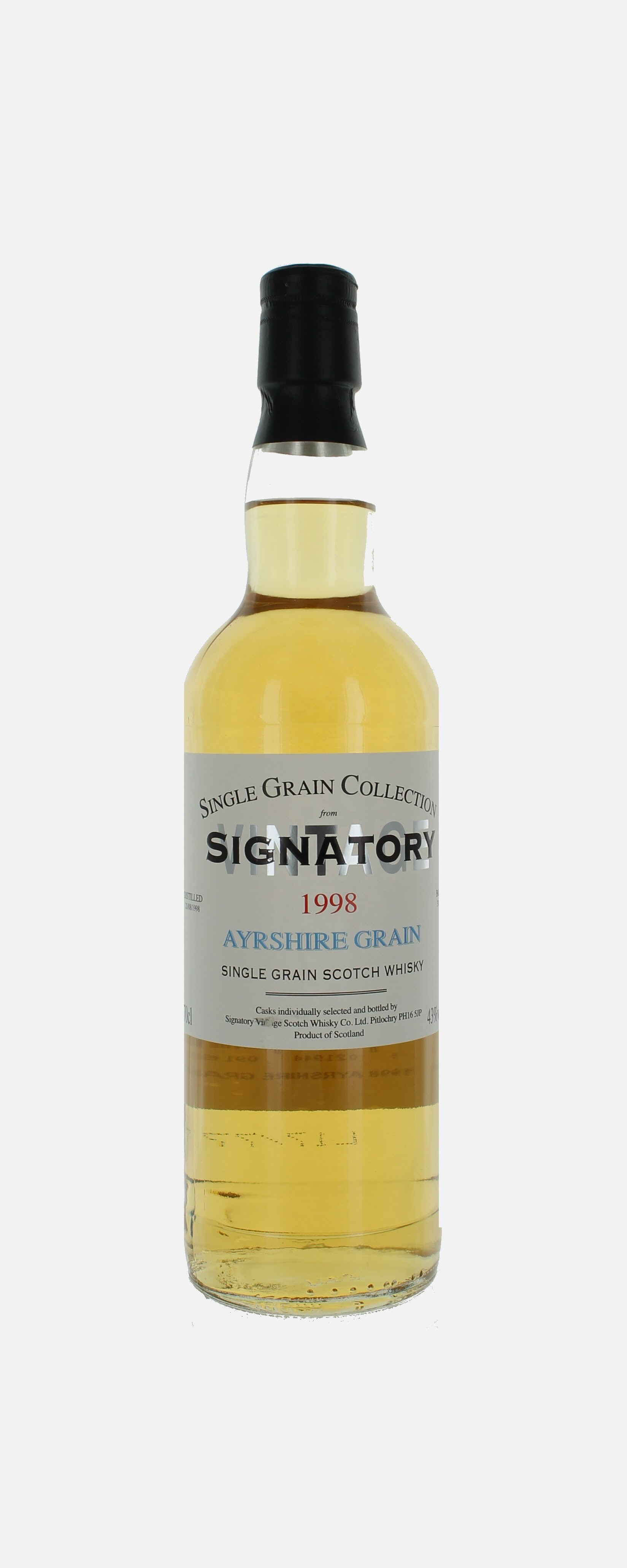 Ayrshire , Single Grain sctoch Whisky