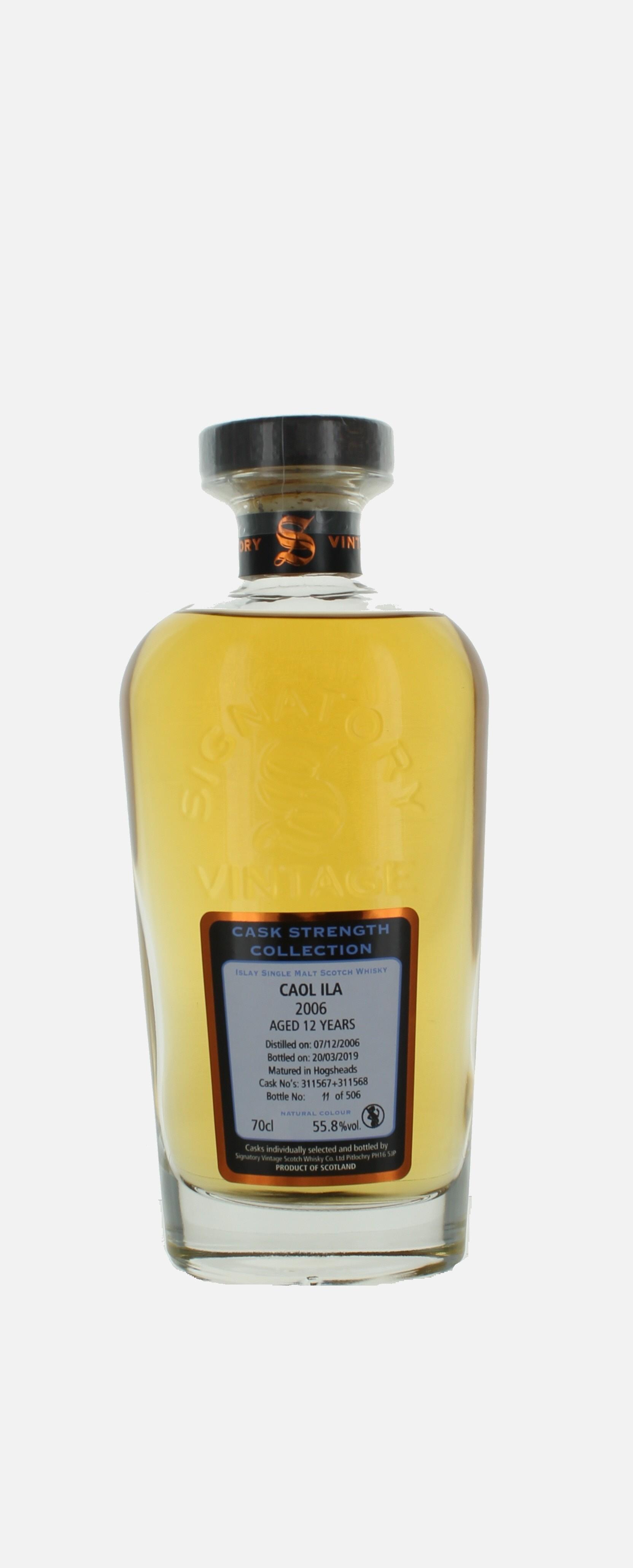 Caol Ila, Single Malt Scotch Whisky, Islay