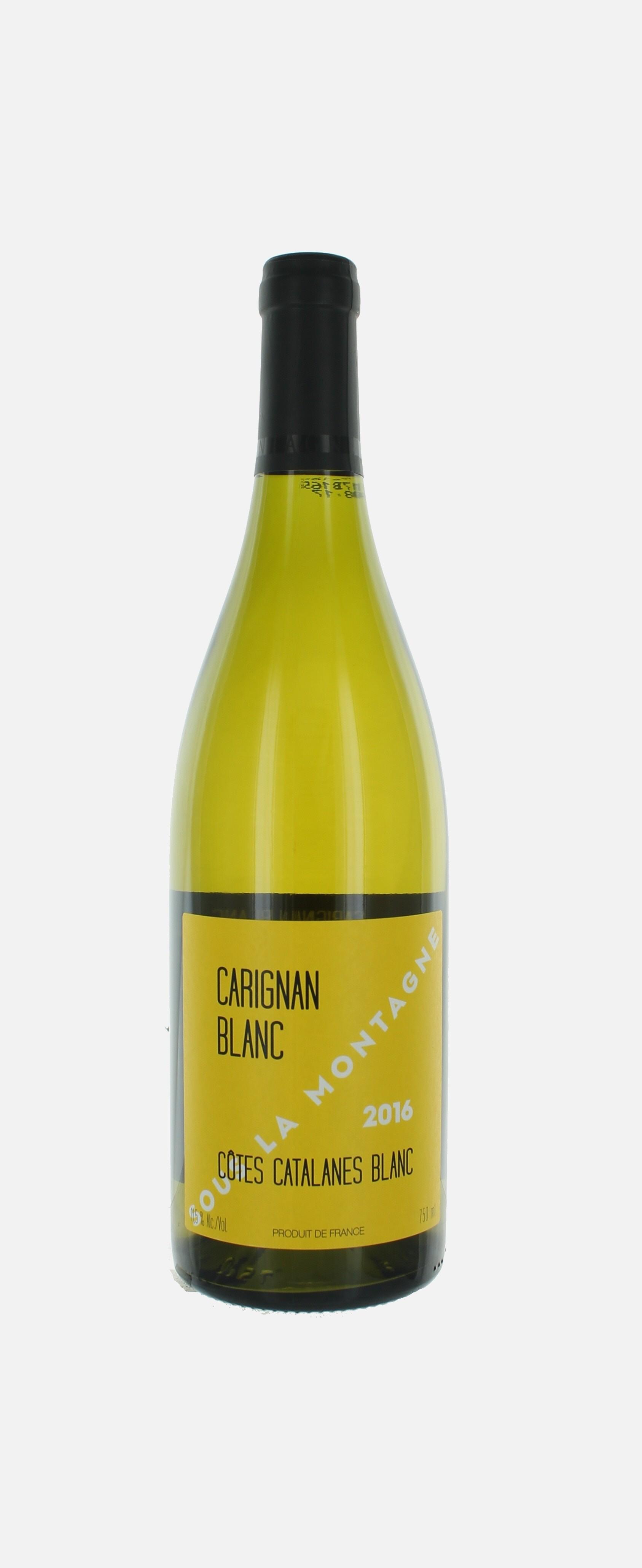 Carignan blanc, Côtes Catalanes, Sous la Montagne