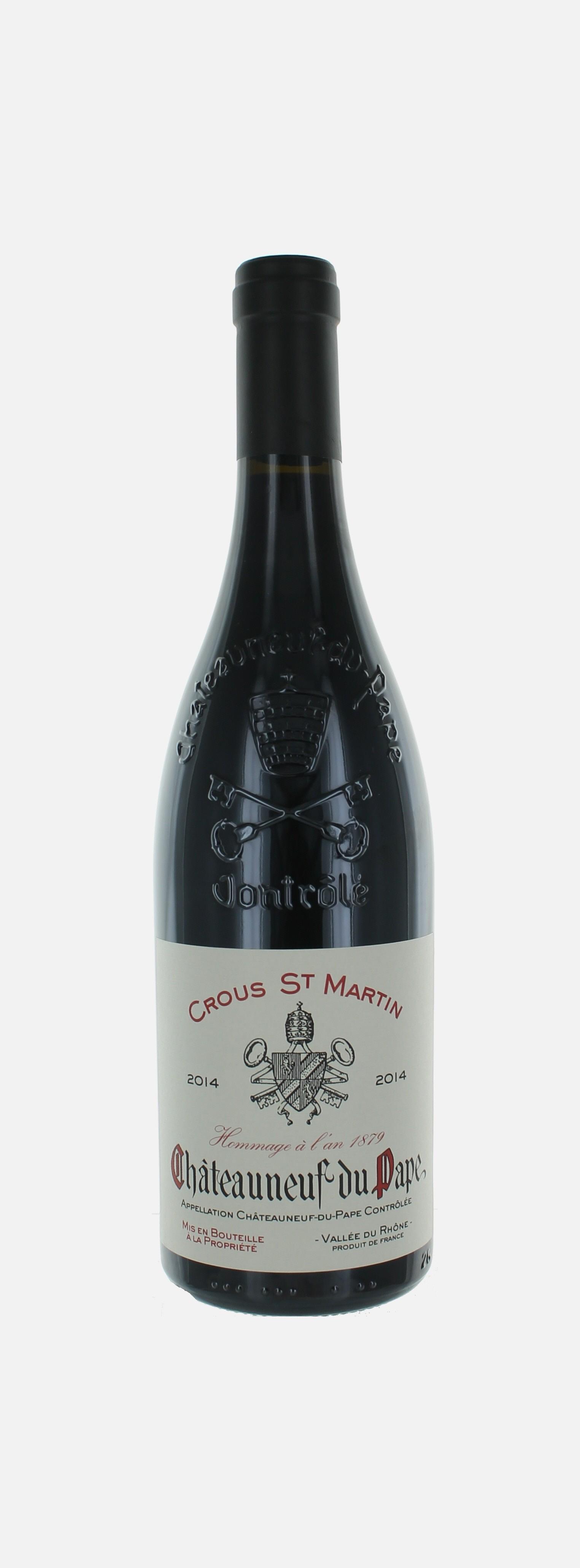 Crous Saint martin, Châteauneuf du Pape