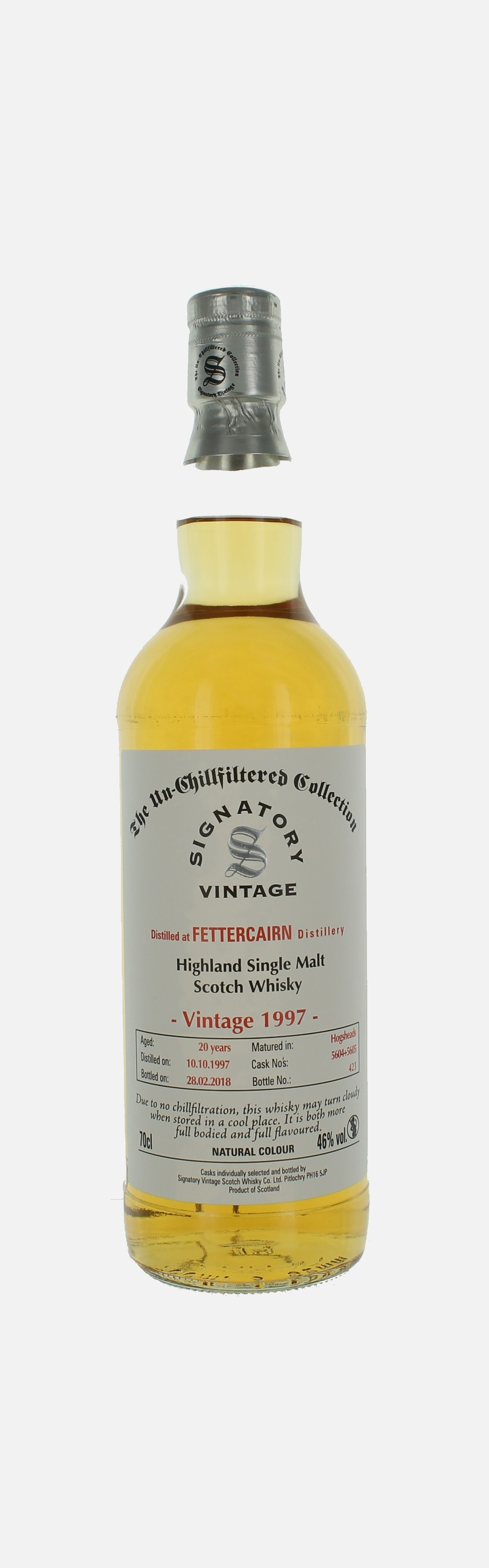 Fettercairn, Single Malt Scotch Whisky, Highland