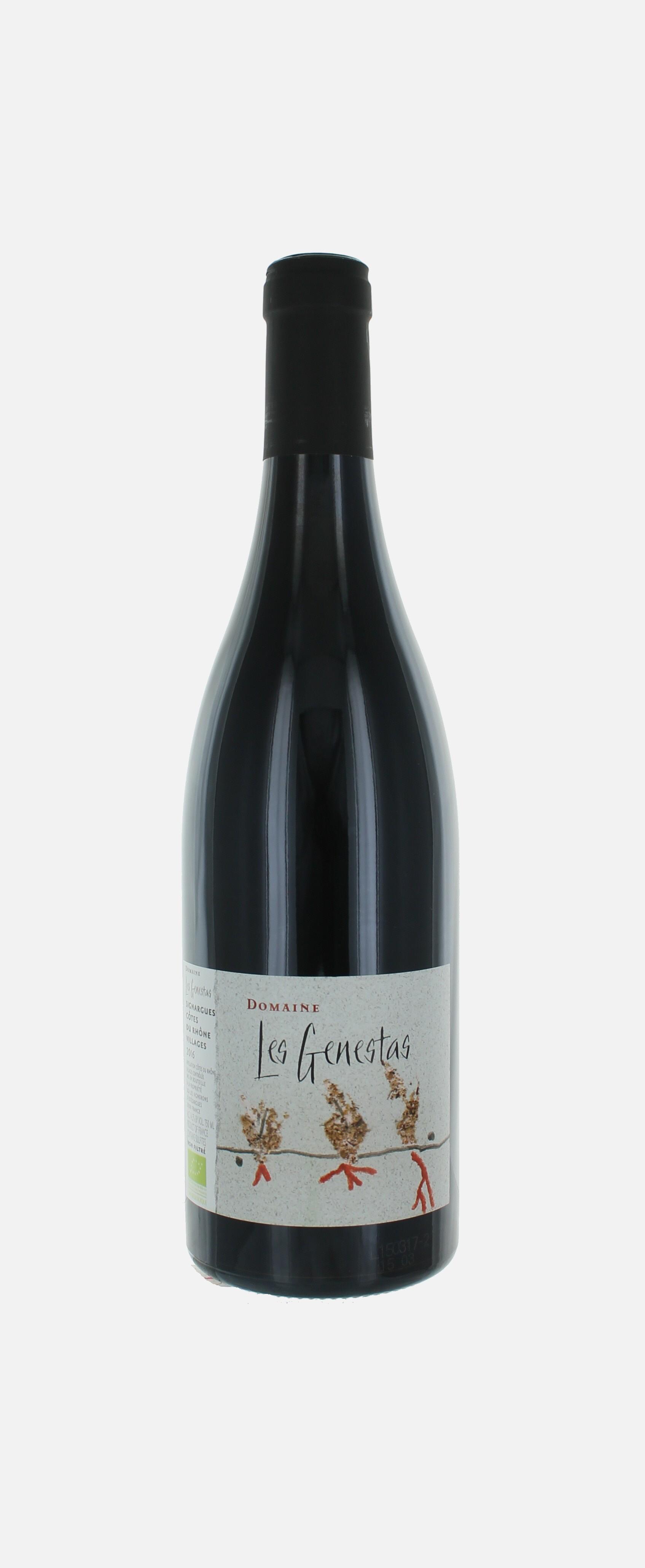 Les Genestas,Côtes du rhône,  Estézargues
