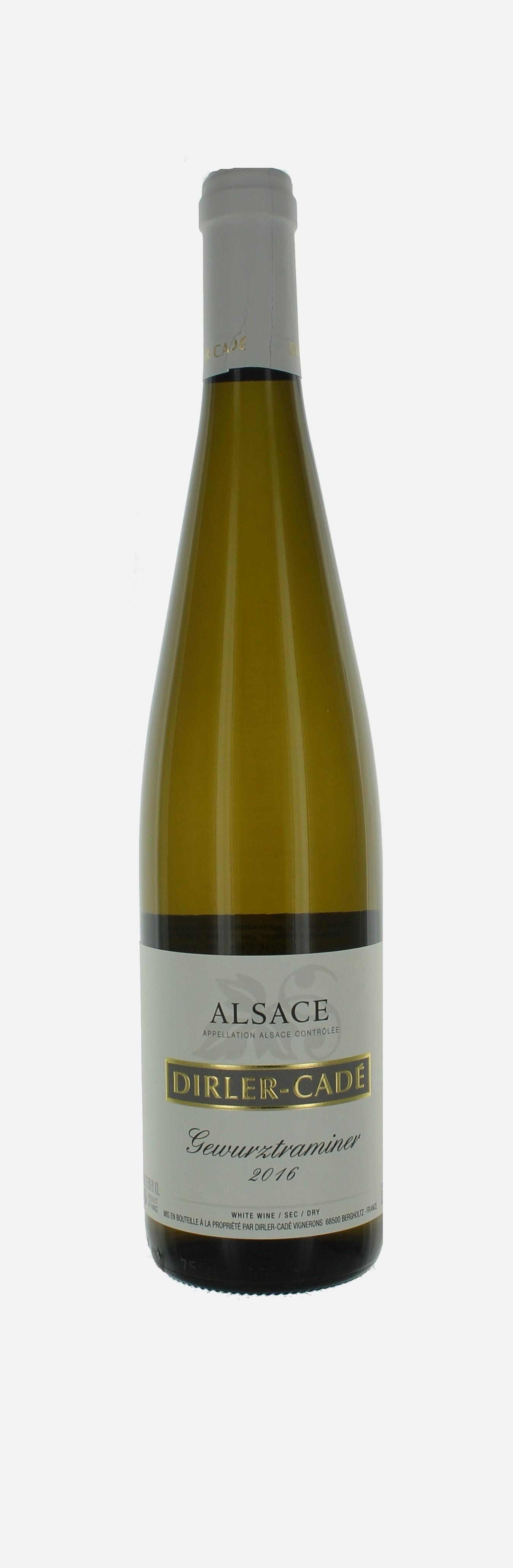 Gewurztraminer, Alsace, Domaine Dirler Cade