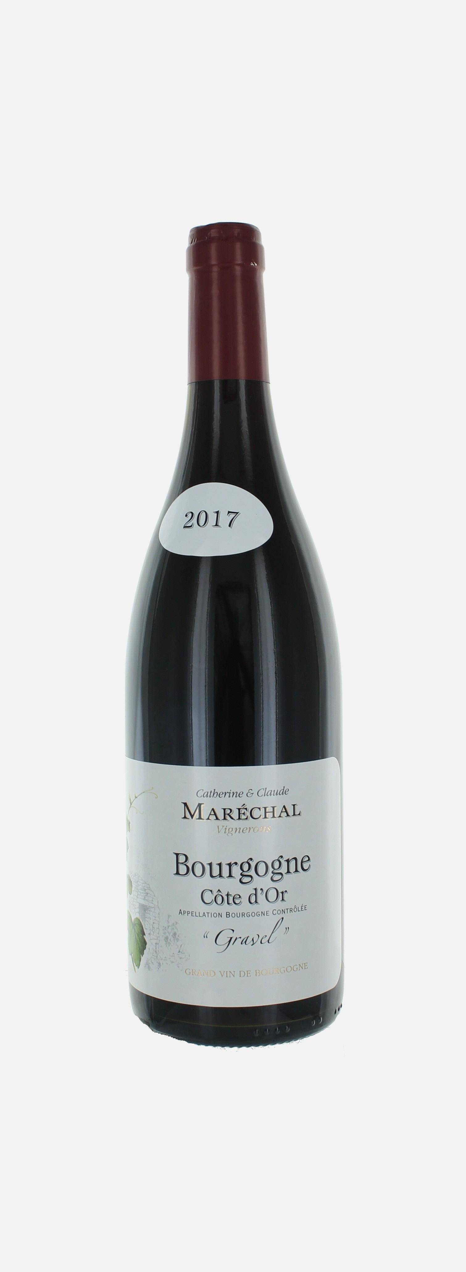 Gravel, Bourgogne, Catherine et Claude Marechal