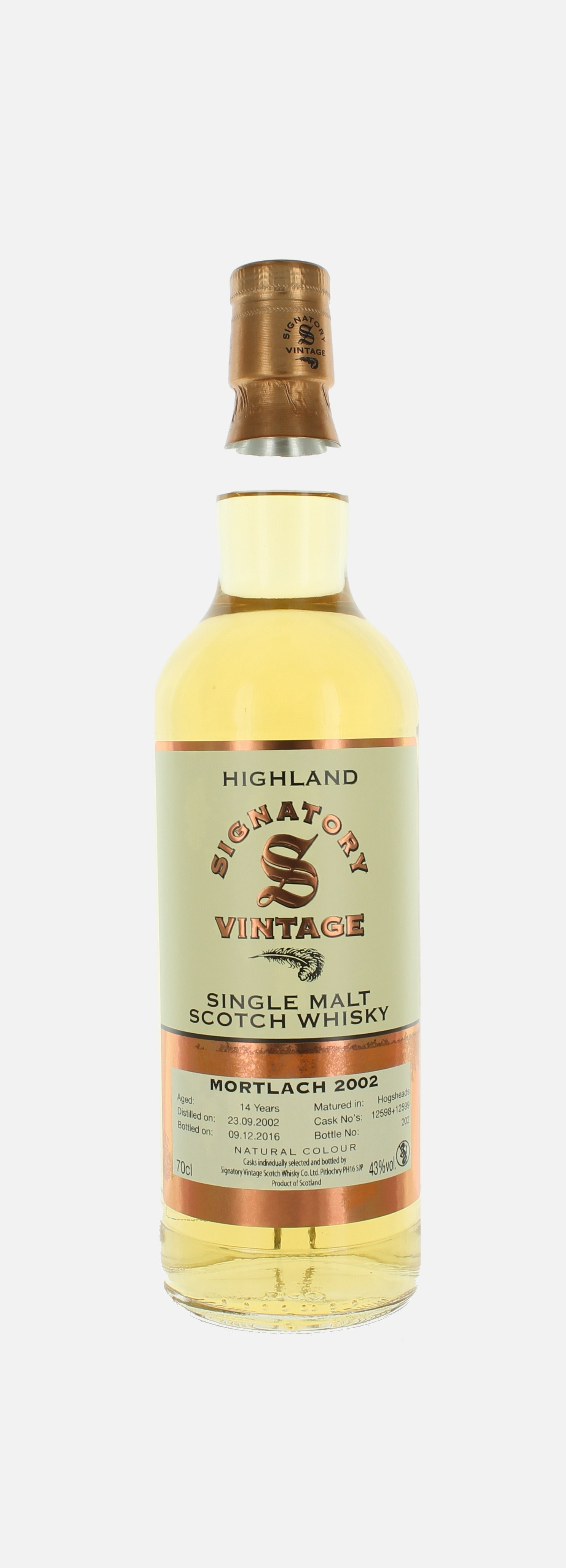 Mortlach , Highlang, Signatory Vintages