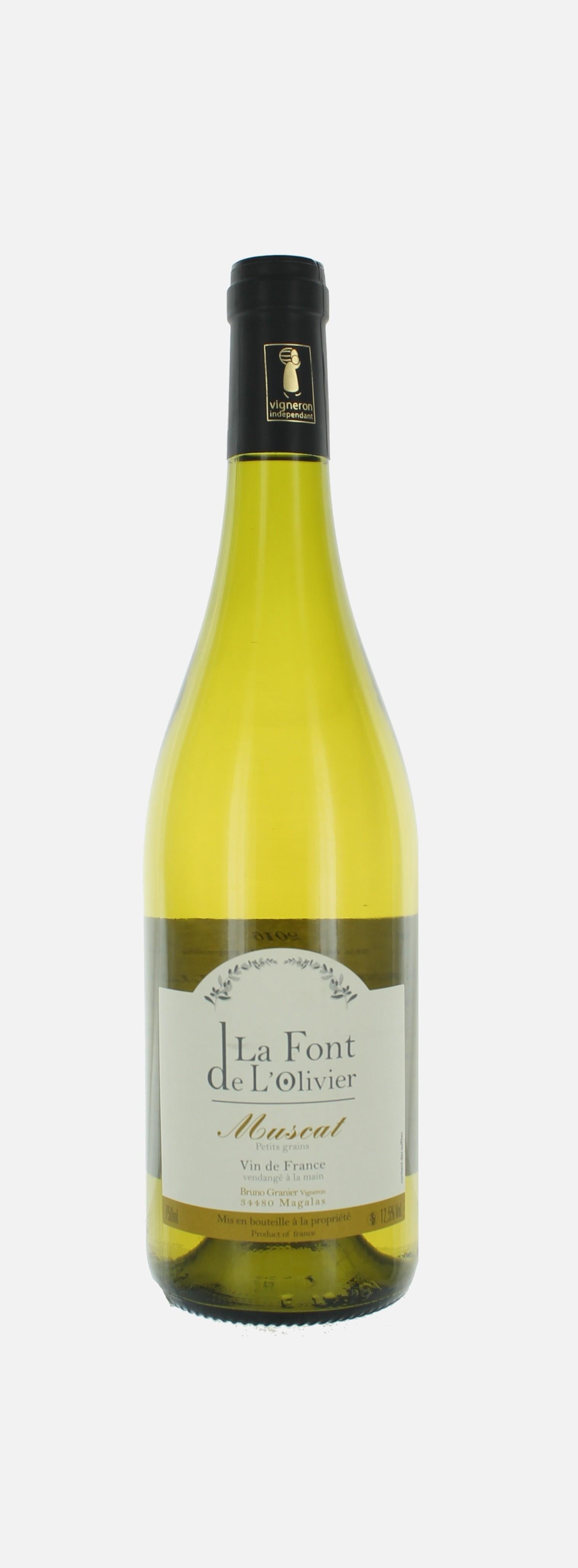 Muscat sec, Vin de France, Font de l'Olivier