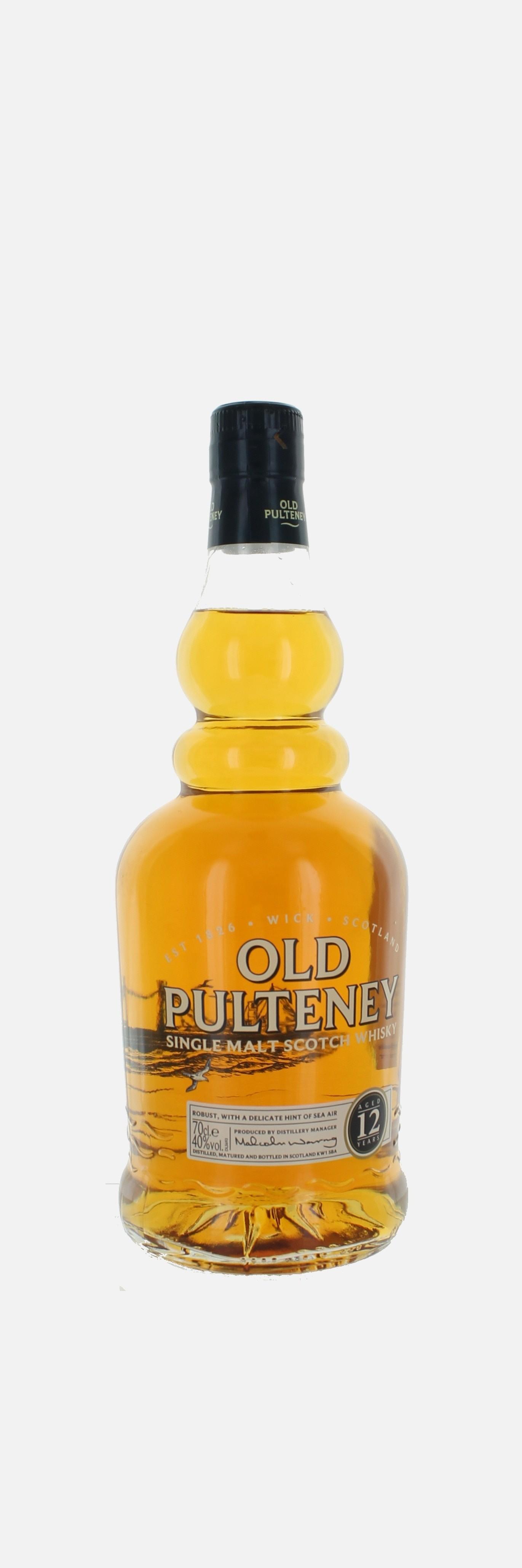 Old Puteney 12 Y, Single Malt Highlands Whisky