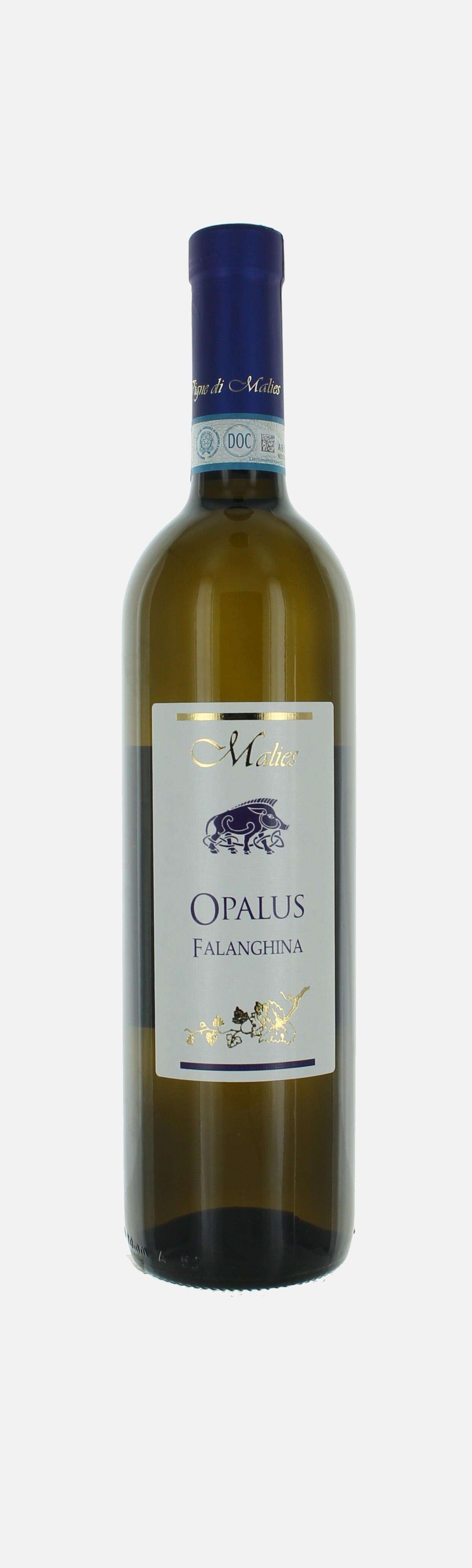 Opalus, Falanghina del Sannio DOC, Vigne de Malies