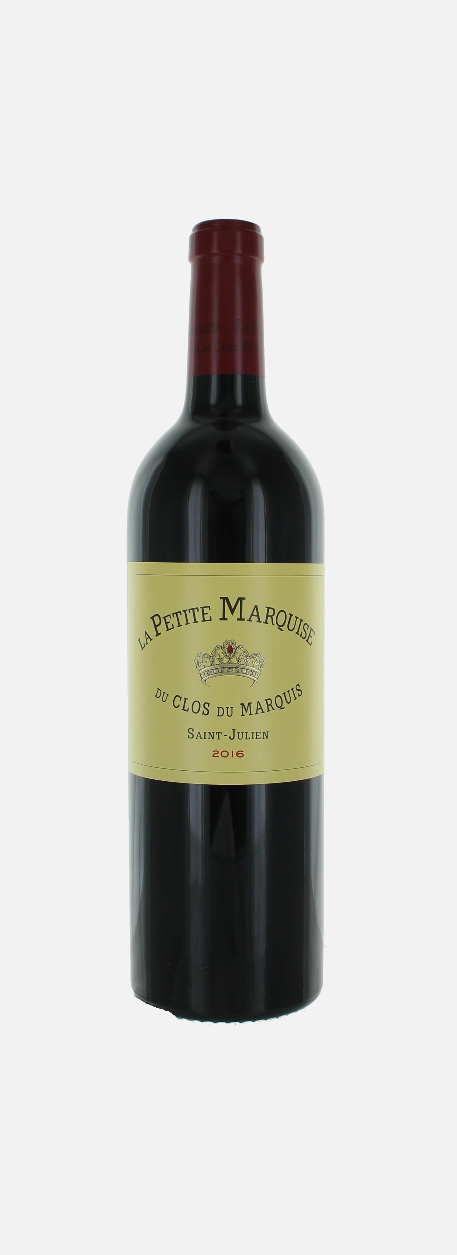 La Petite Marquise, 2ième vin Clos du Marquis