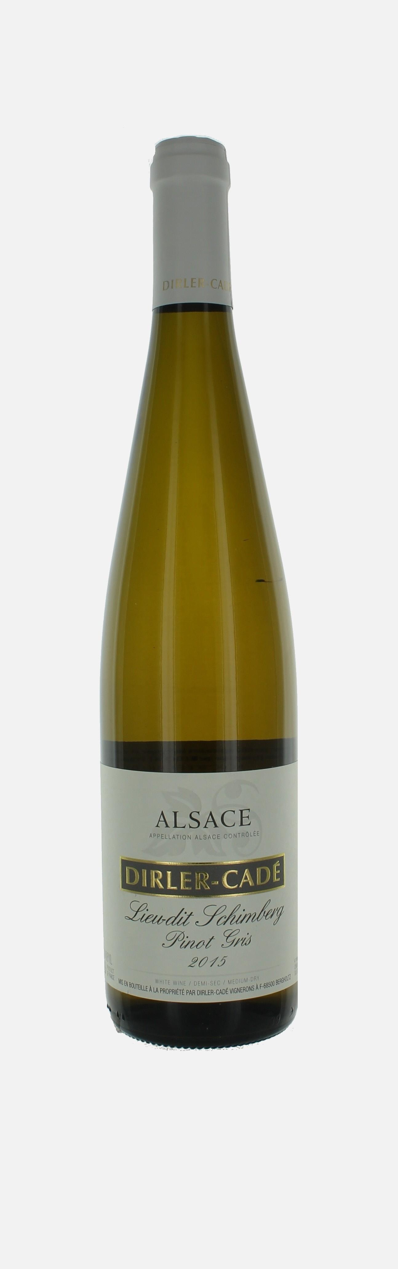 Pinot Gris Schimberg, Alsace, Domaine Dirler Cade