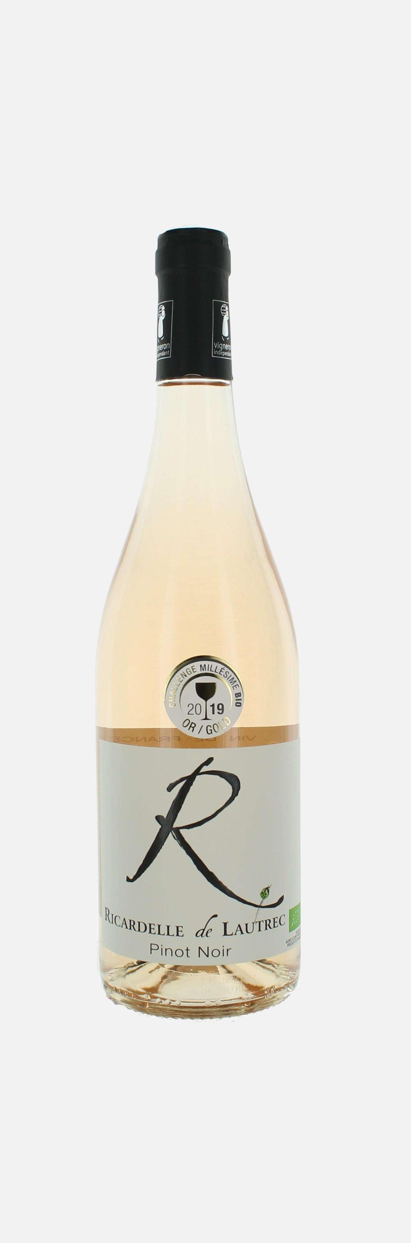 R, Pinot Noir , Ricardelle de Lautrec