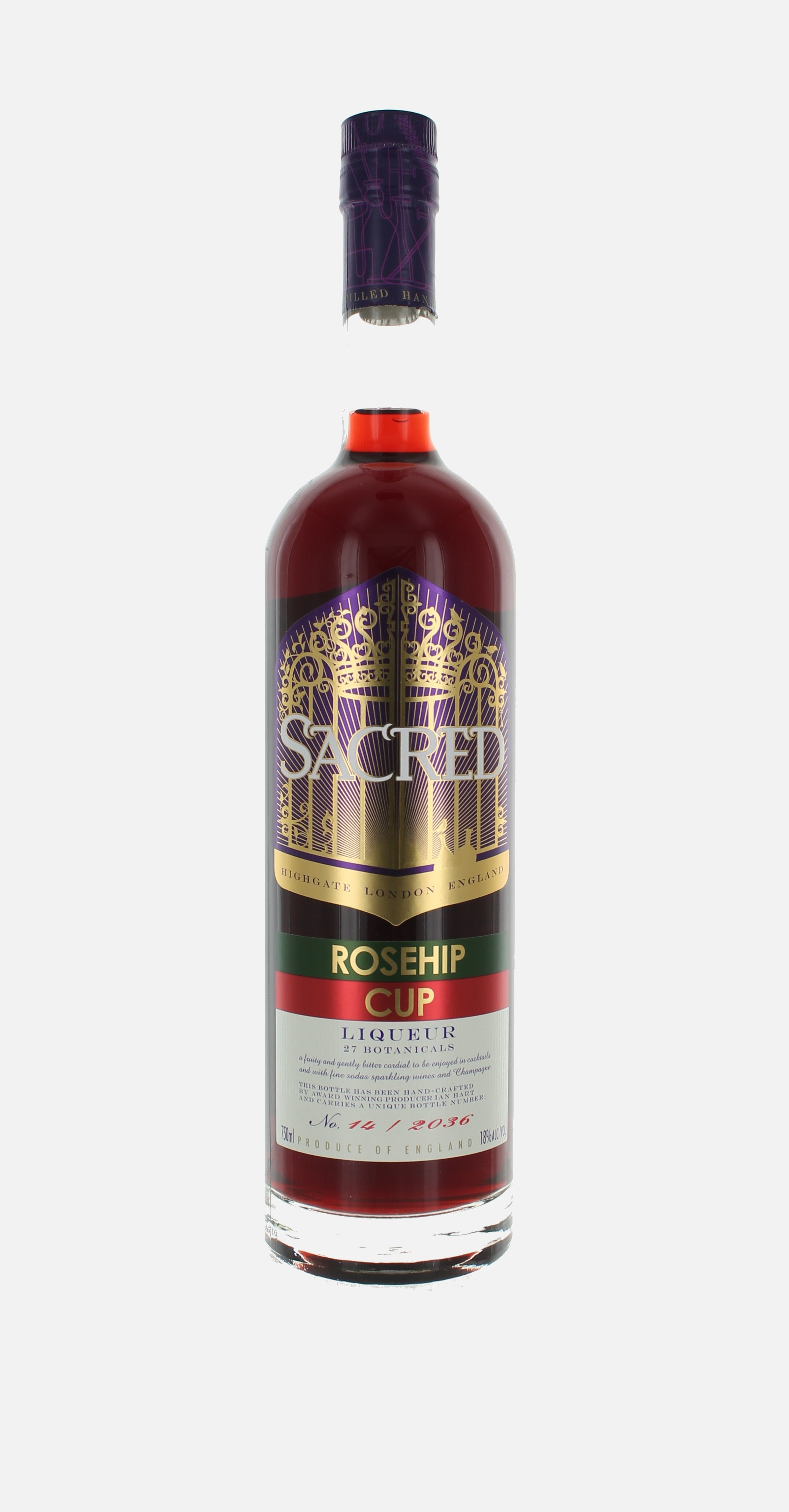 Sacred Rosehip Cup, Liqueur