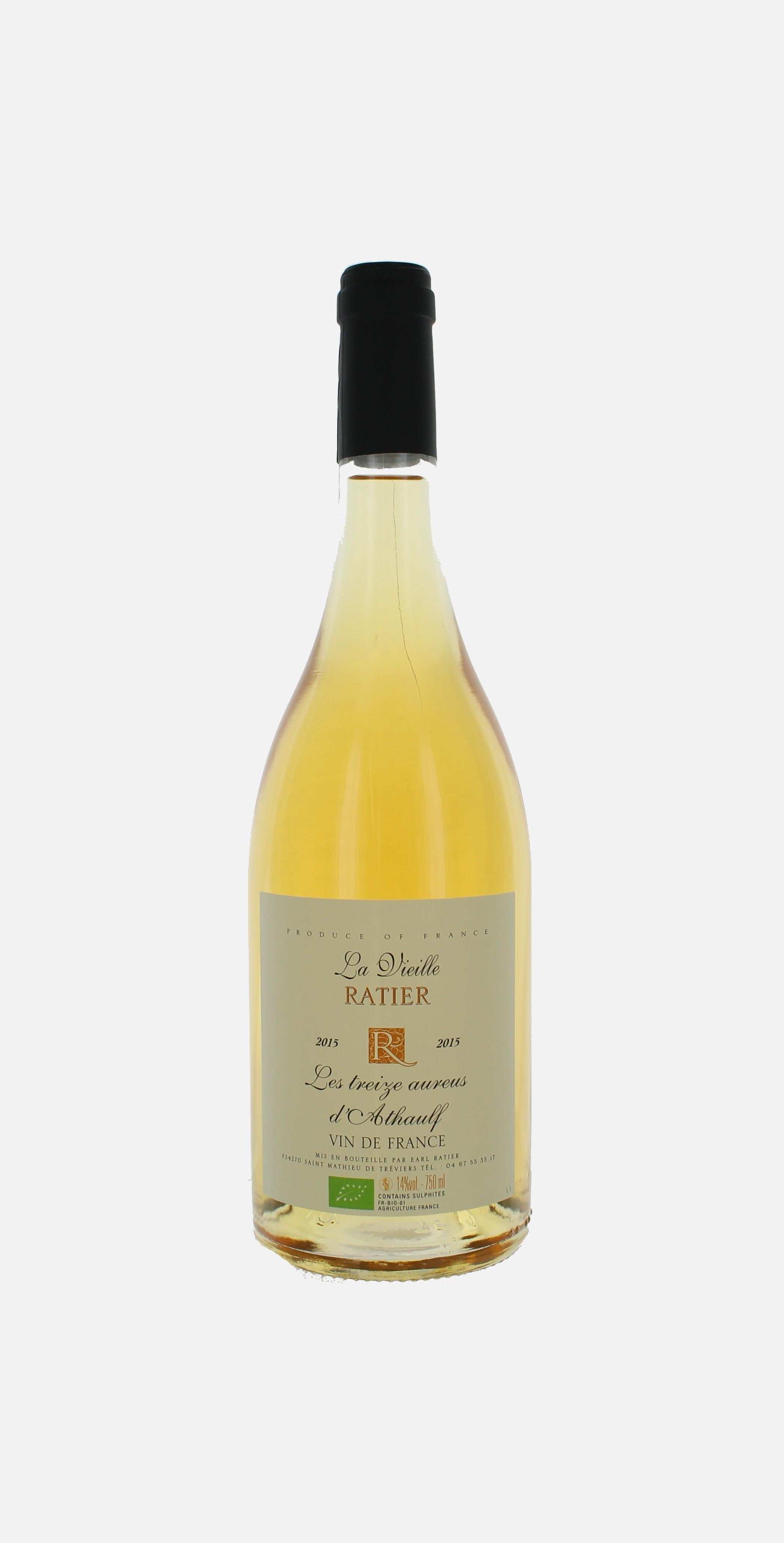 Les treize Aureus, Vin de France, Vieille Ratier