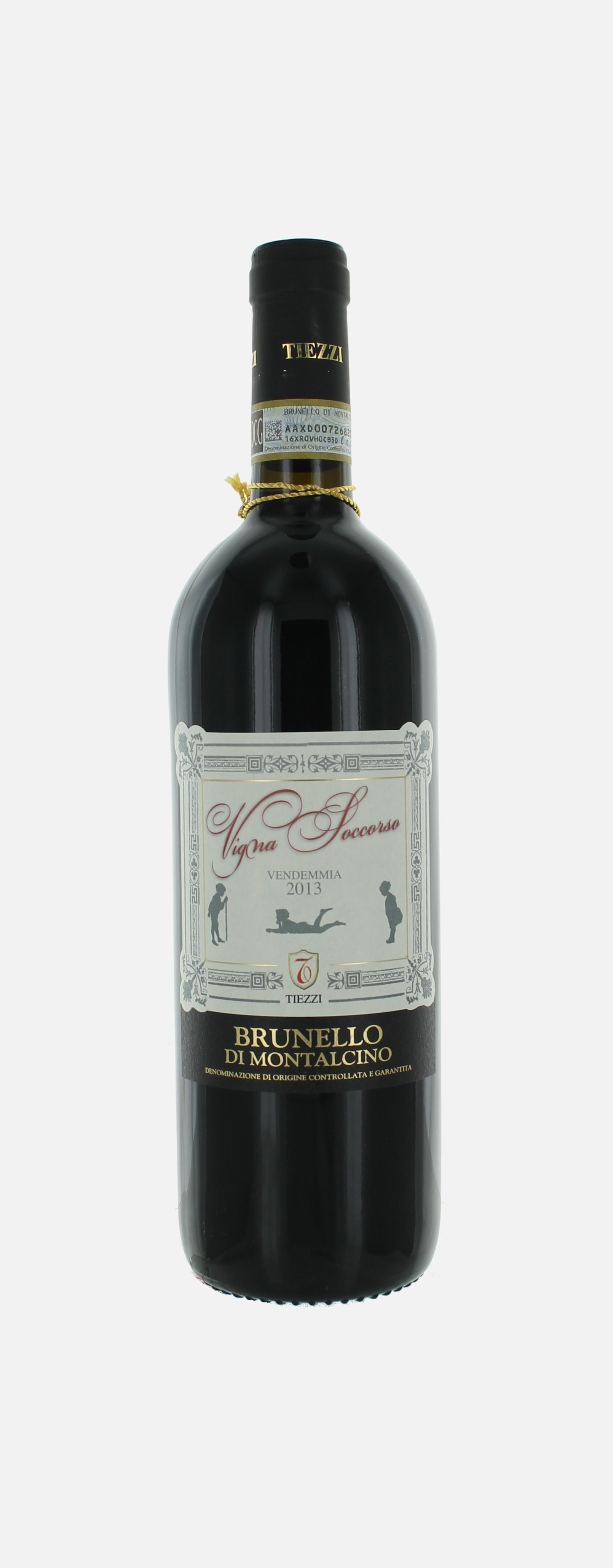 Vigna Soccorso, brunello di Montalcino, Tiezzi