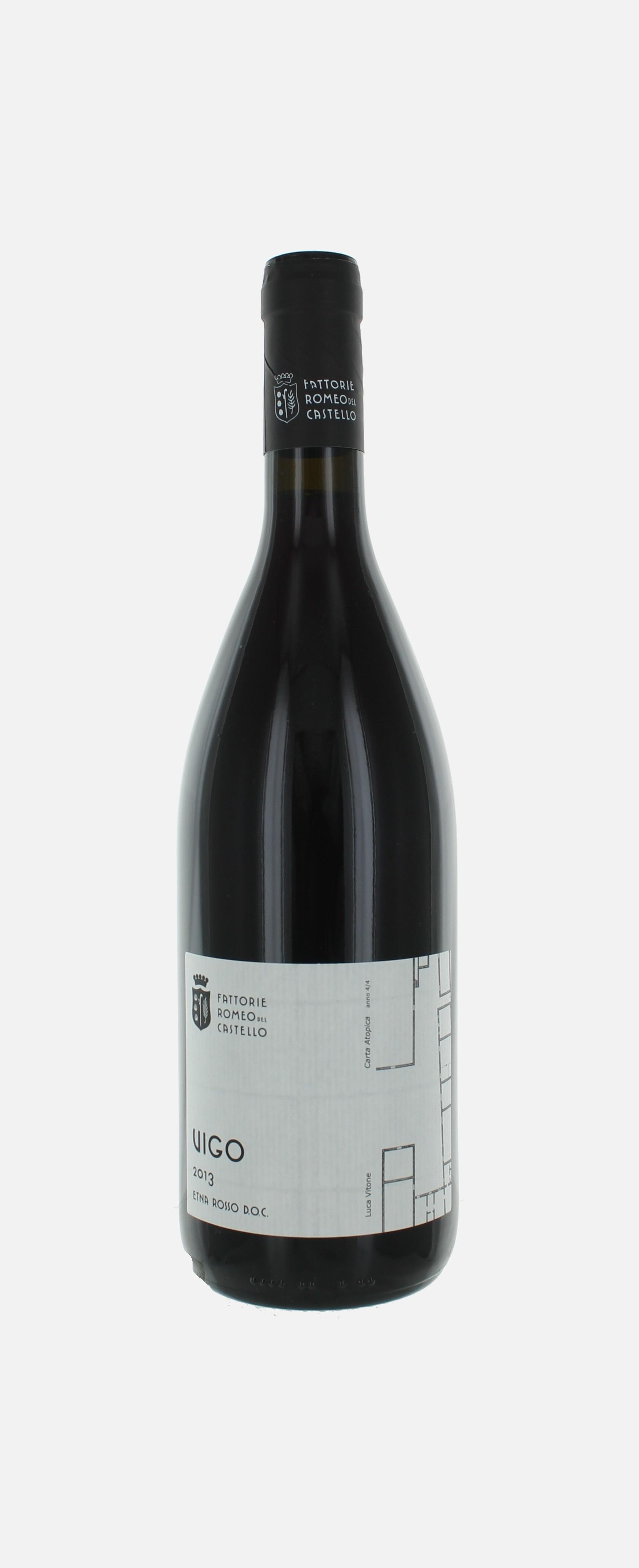Vigo, Etna Rosso DOC, Fattorie Romeo del Castello